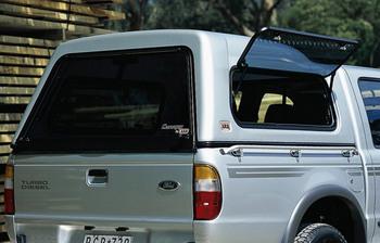 Кунг с зернистым пластиком для Ford Courier версии Super Cab