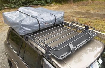 Стальной экспедиционный багажник под палатку